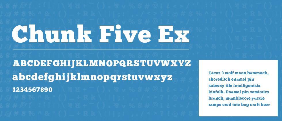Chunk Five Ex