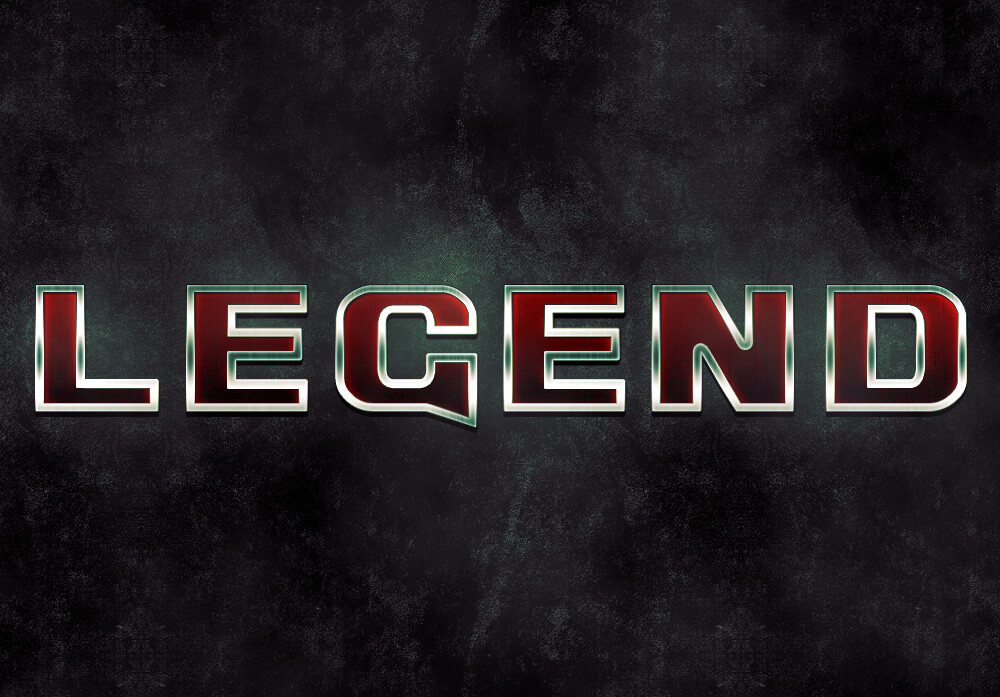 Legend Text Effect Tutorial by Sebastiano