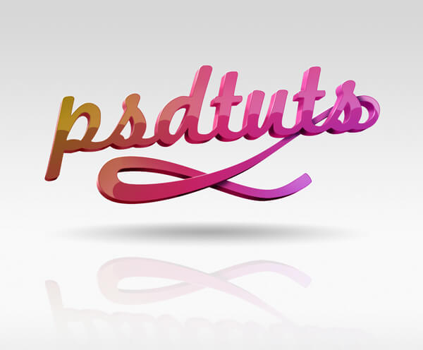 PSD Tutes Text Effect Tutorial by Matthew Harpin