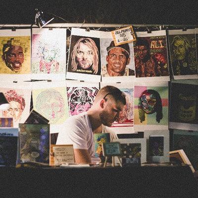 Anton Bachman RAW Artist Art