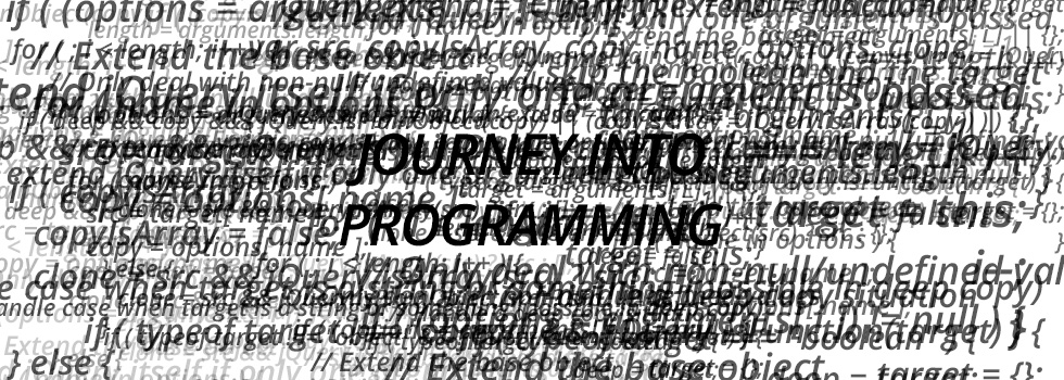 A pile of jQuery code: Journey into Programming
